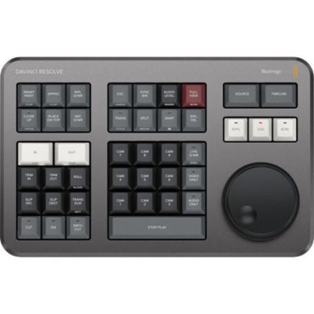 Blackmagic DaVinci resolve Speed Editor surface de contrôle
