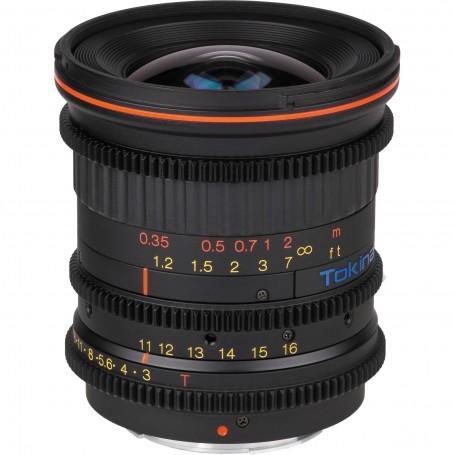 Tokina Cinema 11-16mm T3.0 avec monture Canon EF