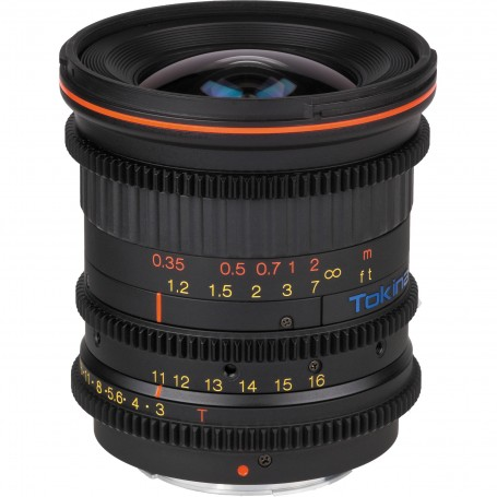 Tokina Cinema 11-16mm T3.0 with Canon EF Mount