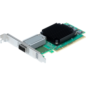 ATTO FastFrame ™ N312 QSFP28 Adaptateur réseau PCIe 3.0 double port 25/40/50 / 100GbE