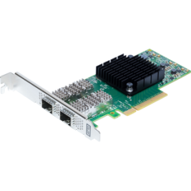ATTO FastFrame ™ N322 SFP28 Adaptateur réseau PCIe 3.0 double port 25GbE