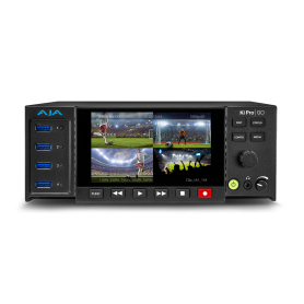 AJA KI PRO GO multi-channel H.264 recorder