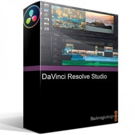 Blackmagic Design DaVinci Resolve Studio 16  (Mac/Windows/Linux)