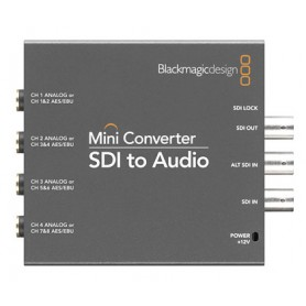 Blackmagic Mini CONVERTER SDI vers audio