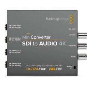 Blackmagic Mini CONVERTER SDI vers audio 4K