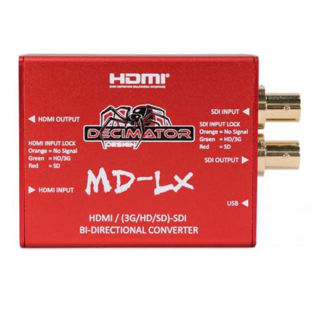 Decimator MD-LX CONVERTISSEUR BI-DIRECTIONNEL HDMI / SDI