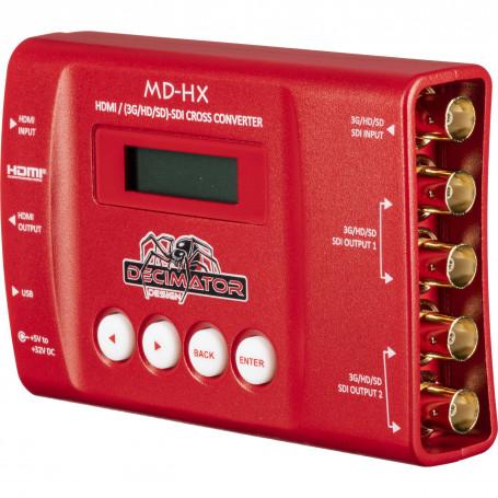 Decimator MD-HX CONVERTISSEUR CROISÉ HDMI / SDI