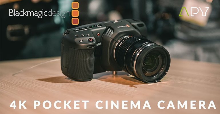 précommande 4k pocket cinema blackmagic