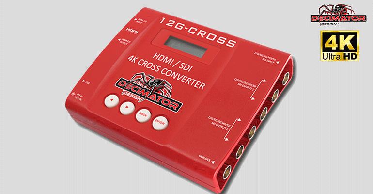 decimator 12G-CROSS convertisseur