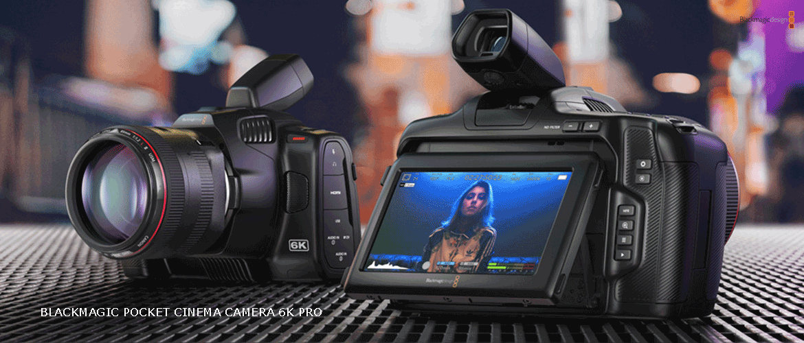 blackmagic camera 6k pro