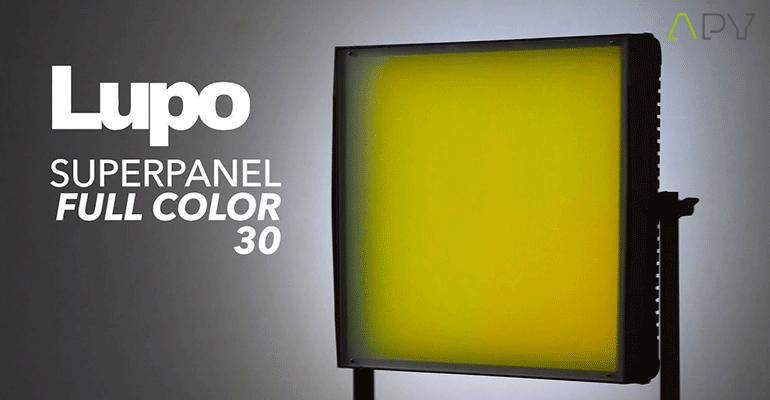 lupo panneaux led full color 30