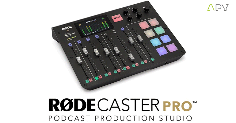 rodecaster pro chez apy mtl