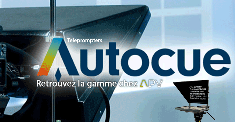 autocue Teleprompters apy montreal