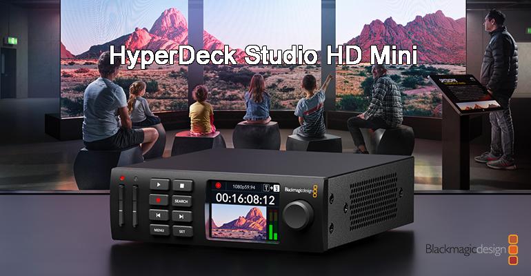 blackmagic hyper deck studio hd mini