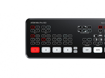 L'ATEM Mini Pro ISO, le mélangeur taillé pour la post production de directs